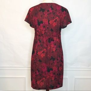 Motherhood Maternity Dresses - NWT Motherhood Maternity Red Floral Dress Size Med
